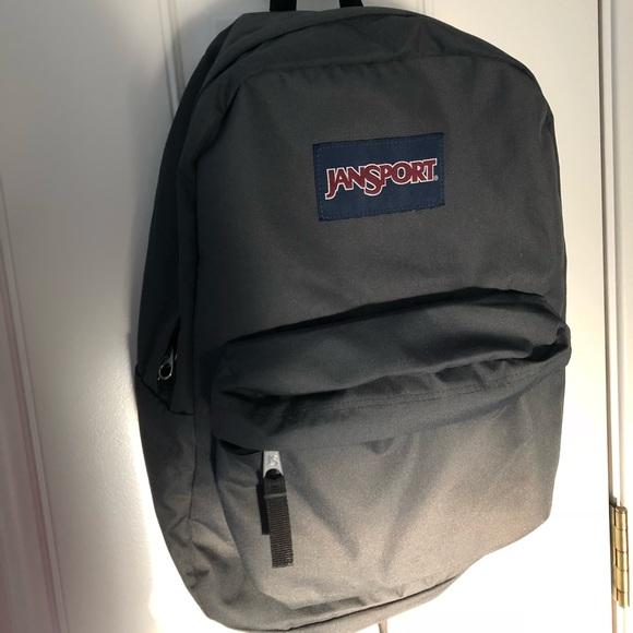 Charcoal Grey Jansport Backpack